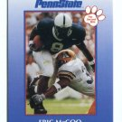 ERIC McCOO 2000 Penn State Second Mile College Card BEARS RB