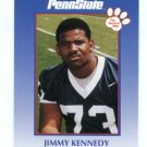 JIMMY KENNEDY 2000 Penn State Second Mile College Card RAMS DT