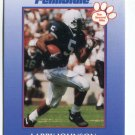 LARRY JOHNSON 2000 Penn State Second Mile college card KC CHIEFS