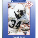 OMAR EASY 2000 Penn State Second Mile College Card Kansas City KC Chiefs RAIDERS FB