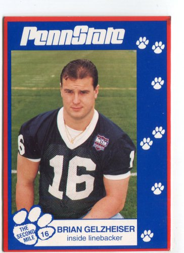 BRIAN GELZHEISER 1993 Penn State Second Mile ILB Colts