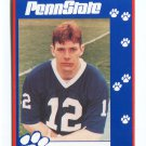 KERRY COLLINS 1993 Penn State Second Mile QB Giants PANTHERS Saints RAIDERS