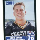 CHRIS GANTER 2001 Big 33 Pennsylvania PA card PENN STATE QB