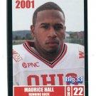 MAURICE HALL 2001 Big 33 Ohio OH card OHIO STATE Buckeyes RB