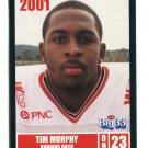 TIM MURPHY 2001 Big 33 Ohio OH card PITT Panthers RB