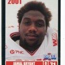 JAMAL BRYANT 2001 Big 33 Ohio OH card BOWLING GREEN DT