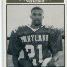 JERMAINE LEWIS 1992 Big 33 Maryland MD High School card UMD TERPS Ravens TEXANS