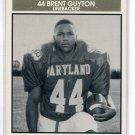 BRENT GUYTON 1992 Big 33 Maryland MD High School card UCLA Bruins LB