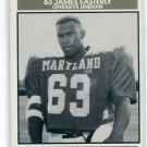 JAMES EASTERLY 1992 Big 33 Maryland MD High School card GEORGIA TECH OL