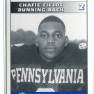 CHAFIE FIELDS 1995 Big 33 Pennsylvania PA High School card PENN STATE NY Jets 49ers