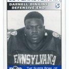 DARNELL DINKINS 1995 Big 33 Pennsylvania PA High School card PITT PANTHERS