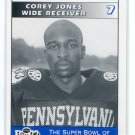 COREY JONES 1995 Big 33 Pennsylvania PA High School card PENN STATE