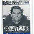 MARC LAPADULA 1995 Big 33 Pennsylvania PA High School card NORTHWESTERN