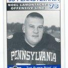 NOEL LAMONTAGNE 1995 Big 33 Pennsylvania PA High School card VIRGINIA Cavaliers