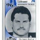 JIM COVERT 1996 Big 33 Pennsylvania PA High School Honorary Chairman CHICAGO Bears PITT Panthers