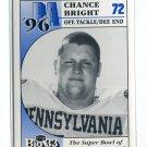 CHANCE BRIGHT 1996 Big 33 Pennsylvania PA High School card PENN STATE