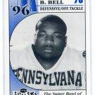 IMANI BELL Big 33 Pennsylvania PA High School card PENN STATE