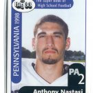 ANTHONY NASTASI 1998 Big 33 Pennsylvania PA High School card PENN STATE