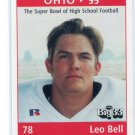 LEO BELL 1999 Big 33 Ohio OH High School card BOSTON COLLEGE