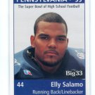 ELLY SALAMO 1998 Big 33 Pennsylvania PA High School card SYRACUSE