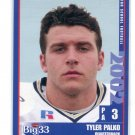 TYLER PALKO 2002 Big 33 Pennsylvania PA High School card PITT Panthers KC Chiefs QB