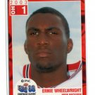 ERNIE WHEELWRIGHT 2003 Big 33 Ohio OH High School card MINNESOTA Gophers RAVENS
