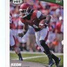 KEON HATCHER 2017 Sage Hit Premier #2 ROOKIE Arkansas Razorbacks WR