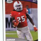 ADRIAN COLBERT 2017 Sage Hit Premier #7 ROOKIE Miami Canes HURRICANES RB