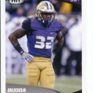 BUDDA BAKER 2017 Sage Hit Premier #37 ROOKIE Washington Huskies SAFETY