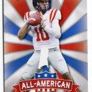 CHAD KELLY 2017 Leaf Draft All-American INSERT #AA-3 ROOKIE Ole Miss Rebels QB