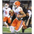 JORDAN LEGGETT 2017 Leaf Draft #41 ROOKIE Clemson Tigers NY JETS
