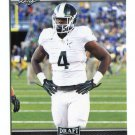 MALIK McDOWELL 2017 Leaf Draft #49 ROOKIE Michigan State Spartans DT