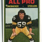JACK HAM 1974 Topps #137 2nd YEAR Steelers PENN STATE Nittany Lions E