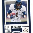 MARVIN JONES 2017 Panini Contenders Draft Picks #6 CAL BEARS Detroit Lions