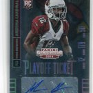 JOHN BROWN 2014 Panini Contenders FOIL AUTO #143 ROOKIE Arizona Cardinals #d/199