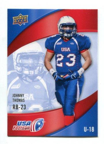 JOHN JOHNNY JOHNATHAN THOMAS 2013 Upper Deck UD USA Football #50 Penn State Nittany Lions RB