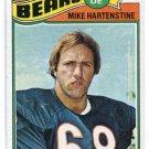 MIKE HARTENSTINE 1977 Topps #199 ROOKIE Penn State BEARS