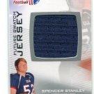SPENCER STANLEY 2012 Upper Deck UD USA Football JERSEY Rice Owls OL