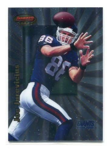 JOE JUREVICIUS 1998 Bowman's Best #104 ROOKIE Penn State Nittany Lions NEW YORK NY Giants