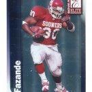 JERMAINE FAZANDE 1999 Donruss Elite #173 ROOKIE Oklahoma Sooners CHARGERS