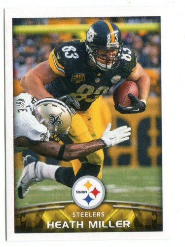 LH) HEATH MILLER 2015 Panini Stickers #118 Virginia Cavaliers STEELERS