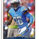 LH) BRANDON FLOWERS 2015 Panini Stickers #230 CHARGERS