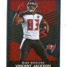 LH) VINCENT JACKSON 2015 Panini Stickers FOIL #383 BUCCANEERS
