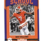 MIKE WILLIAMS 2017 Panini Contenders Draft Picks Old School INSERT ROOKIE Clemson Tigers CHARGERS