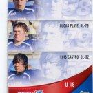 LOREN MONDY / LUCAS PLATE / LUIS CASTRO 2013 Upper Deck UD USA Football #53 ARIZONA STATE