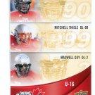 TRAWN SIMON / MITCHELL THIELE / MAXWELL GUY 2013 Upper Deck UD USA Football #C-32 Canada