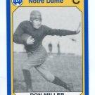 DON MILLER 1990 Notre Dame Collegiate Collection #126