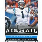 CAM NEWTON 2013 Panini Score Airmail INSERT SP #225 Augurn Tigers CAROLINA PANTHERS QB