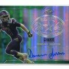 DONOVAN JOHNSON 2017 Leaf Army All-American AUTO GREEN Penn State 4-star CB #d 4/10