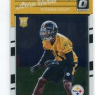 ARTIE BURNS 2016 Panini Donruss Optic #103 ROOKIE Steelers MIAMI CANES Hurricanes